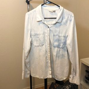 Denim Top distressed